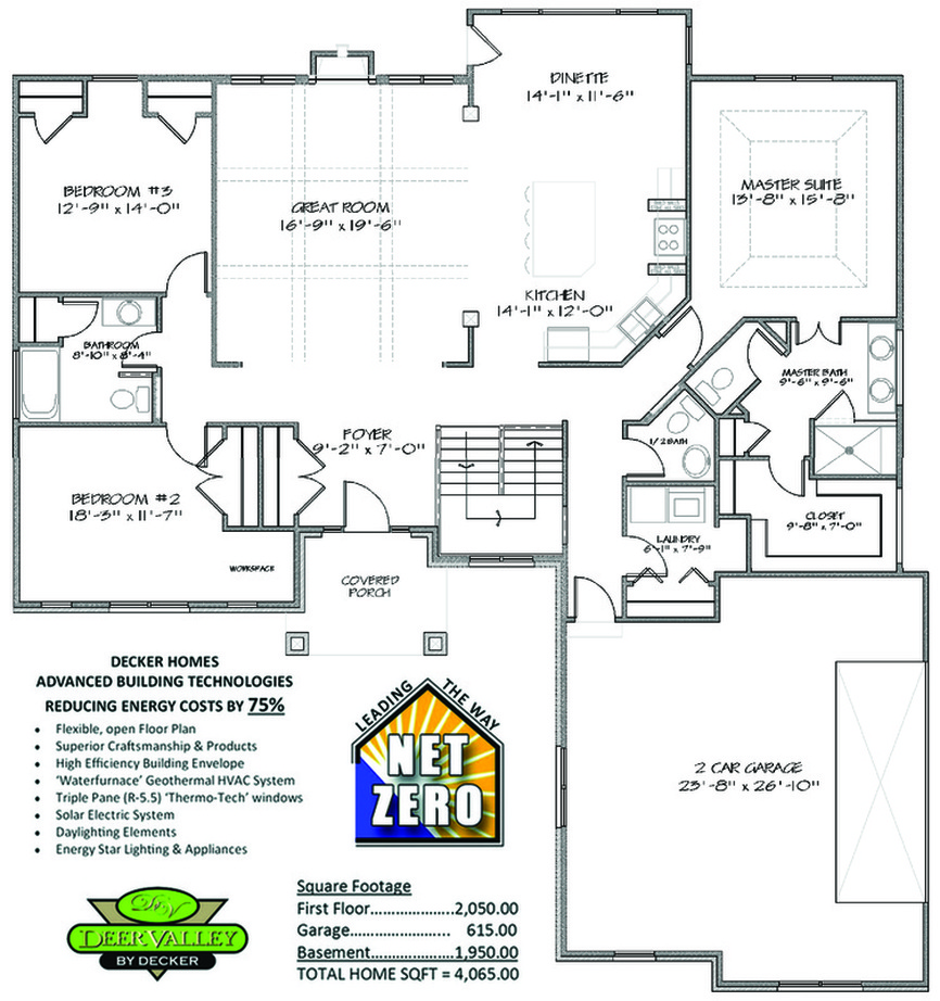 Deer Valley Mobile Home Floor Plans: Decker Homes Model Home
