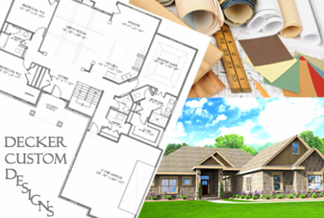 Custom Designed Floor Plans, Decker Homes - DECKER HOMES on key west home design plans, california home design plans, santa fe home design plans,